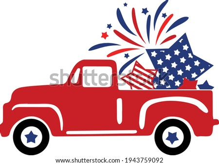 4th of july svg vector