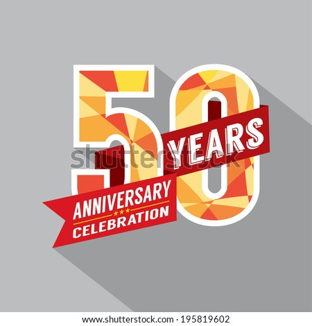 Shutterstock 50th Year Anniversary Celebration Design