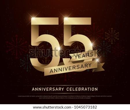 55th years anniversary...