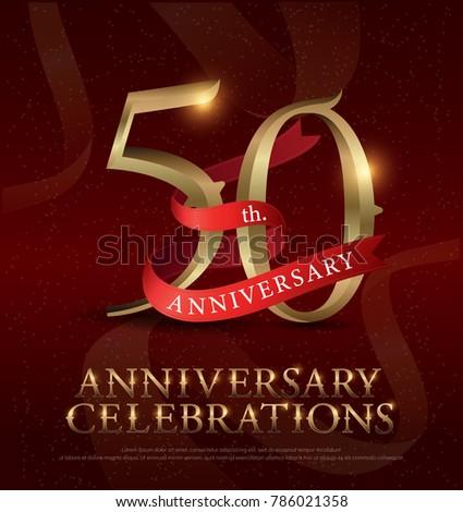 50th years anniversary...