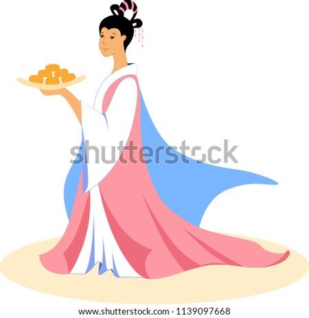 the chinese moon goddess chang'