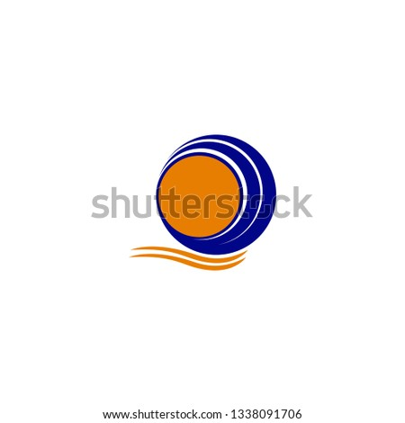 The company's design logo is a simple and attractive vector with a simple lightweight composition