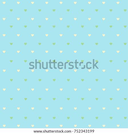 01 tiny hearts wallpaper vector