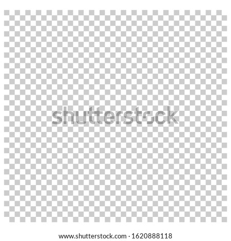 Transparent vector background. Transparent grid. seamless design