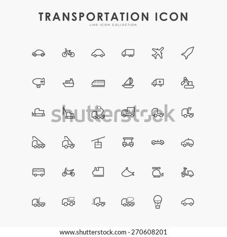 36 transportation minimal line