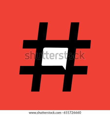 trending hashtag with chat