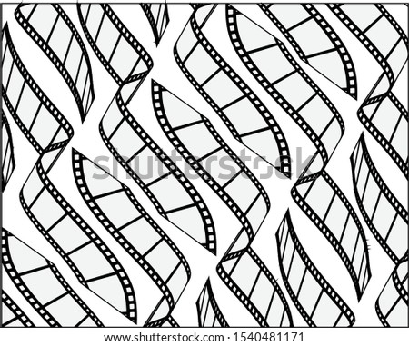 trendy curve lines background