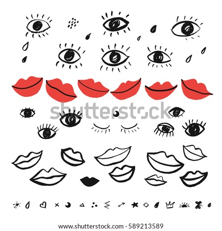 trendy vector pattern with