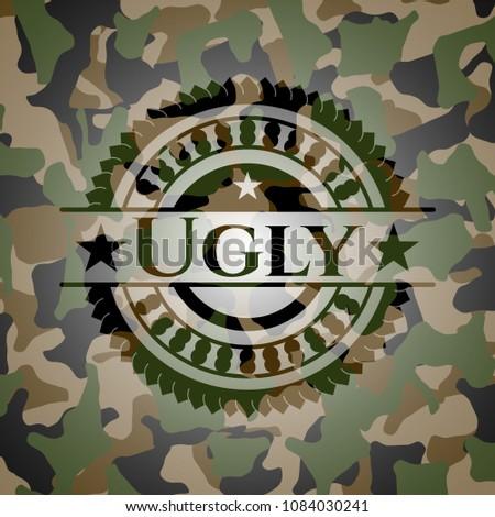 ugly camouflaged emblem