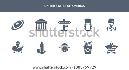 10 united states of america