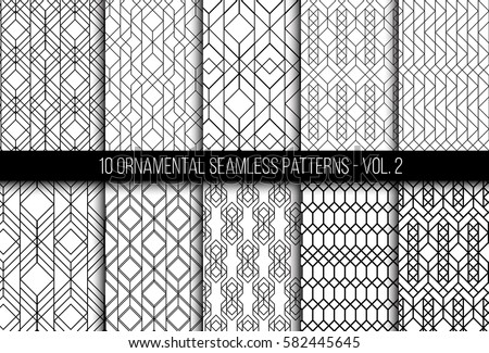 Seamless Line Pattern Download Free Vector Art Stock Graphics Extraordinary Line Pattern Vector