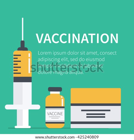 vaccination concept poster