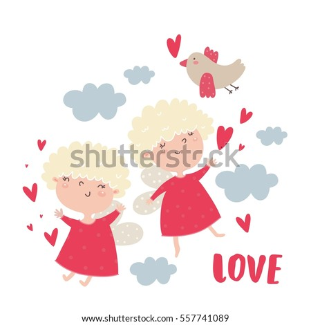 valentine's day cute cupid