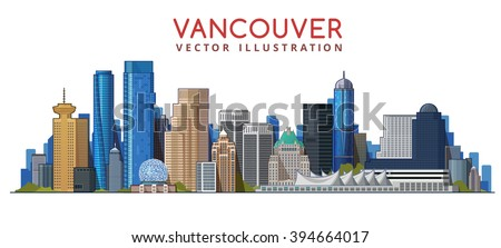 vancouver city skyline design