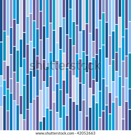 (Vector) Abstract vertical stripes design in cool colours. A Jpg version is also available