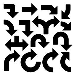 15 vector arrows