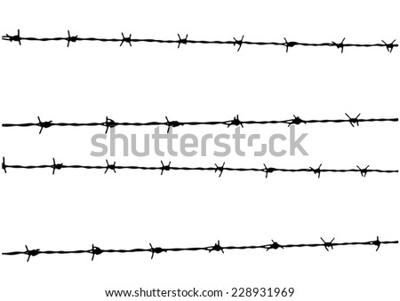 Razor Wire Icons Set - Download Free Vector Art, Stock Graphics & Images