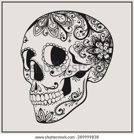 vector black tattoo sugar