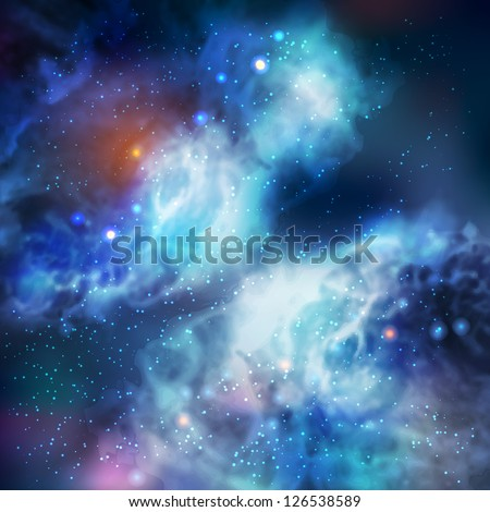 100  vector butterfly galaxy
