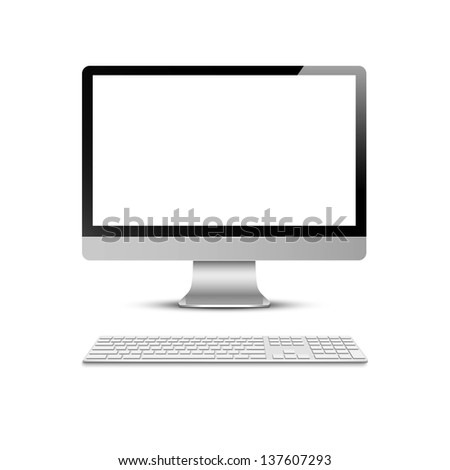 vector computer display with