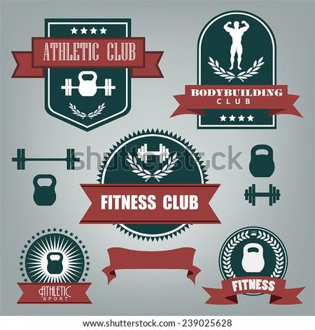 5 vector emblems athletics