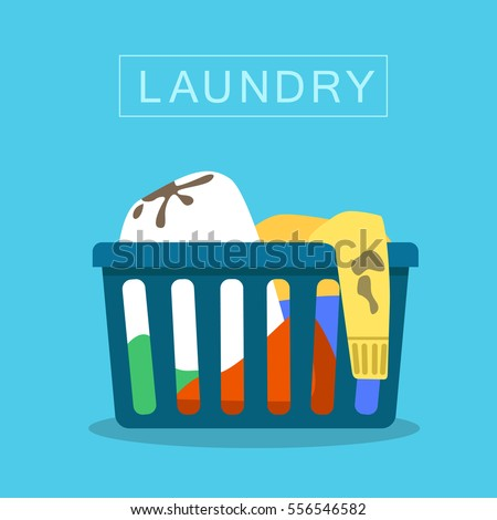 Put dirty clothes in hamper  Chore chart clipart  Chores