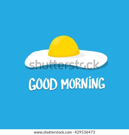 vector good morning concept