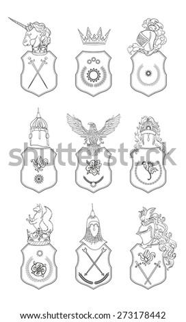 vector heraldry emblem