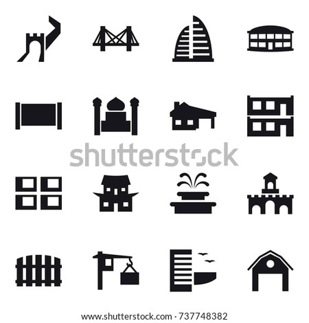 16 vector icon set   greate