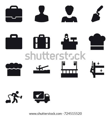 16 vector icon set   portfolio