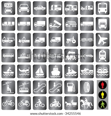 48 vector icons set at the