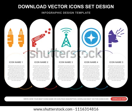Bullet Points Infographics Elements Vector Download Free Vector - Best of download bullet points design