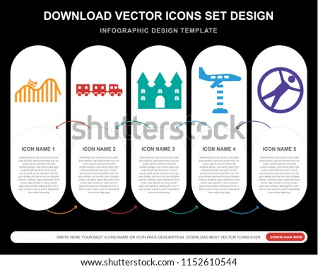 5 vector icons such as dunk