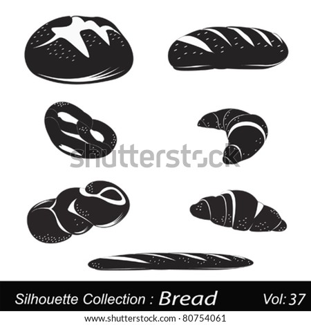 Vector Illustration: bread
