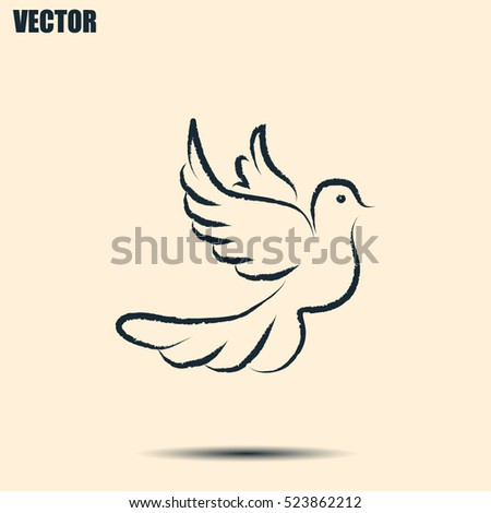 vector illustration flying