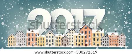 2017 vector illustration