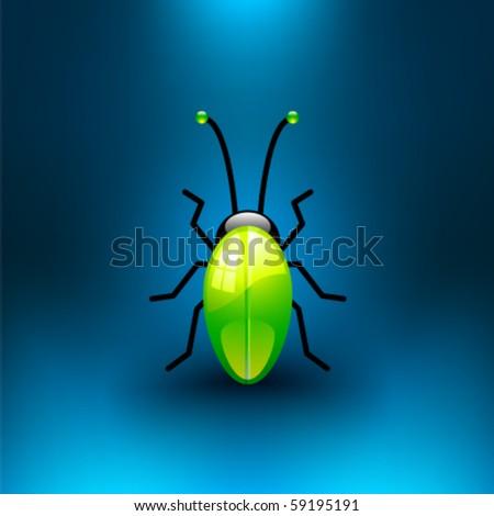 Vector Jewel Bug