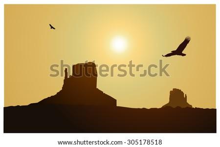 vector landscape background