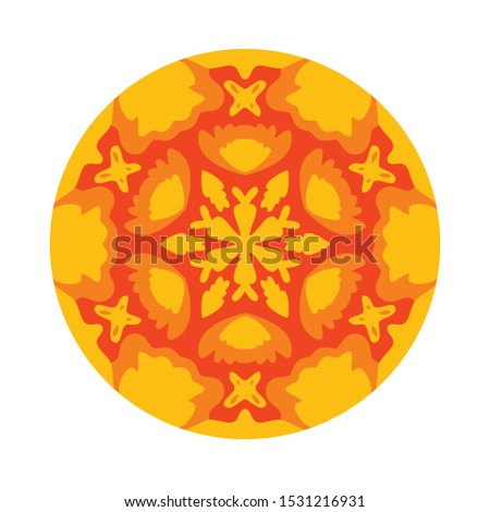 Vector Mandala, floral, flower, oriental , coloring. Oriental pattern, vector illustration. Islam, Arabic, Indian, pakistan, chinese, ottoman motifs indonesian