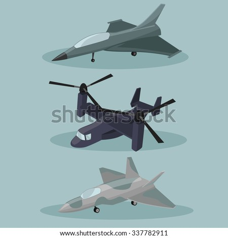 vector military different
