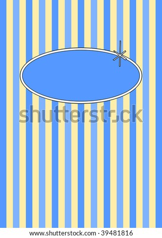 (Vector) 1950's retro candy stripes design with copy space. A Jpg version is also available.