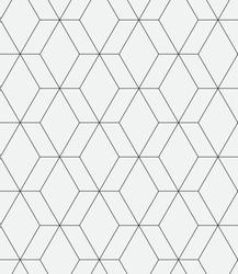 Vector seamless pattern. Modern stylish texture. Repeating geometric hexagons.
