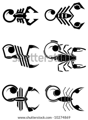 6 vector signs of scorpion