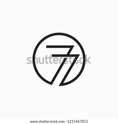 77 vector symbol