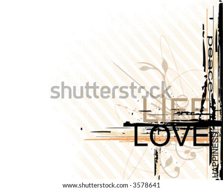 -vector-typographic background