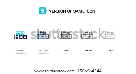 5 version of straw bale icon