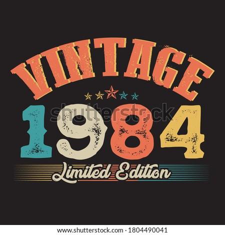 1984 vintage style t shirt