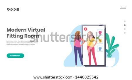 Virtual Fitting Room, Smart mirror