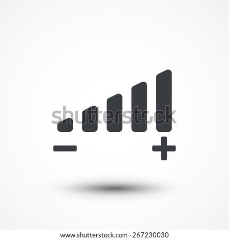volume adjustment symbol web