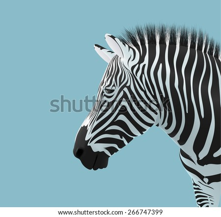 Zebra head download free vector art stock graphics images volume of a zebra head pronofoot35fo Gallery